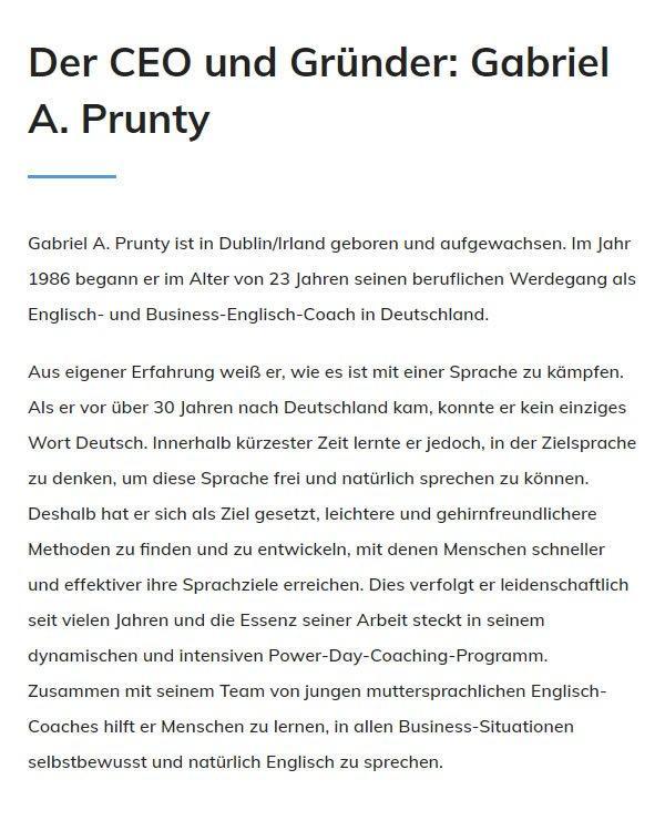 Englisch lernen für Geschäftsleute für 70173 Stuttgart